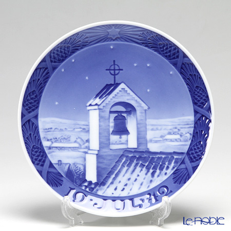 Royal Copenhagen Collectibles 'Bell Tower' 1942 Christmas Plate 18cm