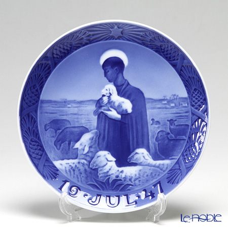 Royal Copenhagen Collectibles 'The Good Shepherd' 1947 Christmas Plate 18cm