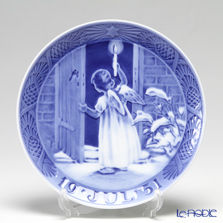 Royal Copenhagen Christmas Plate 1951 - 'Christmas Angel'