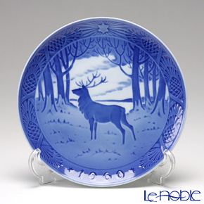 Royal Copenhagen Christmas Plate 1960 - 'The Stag'