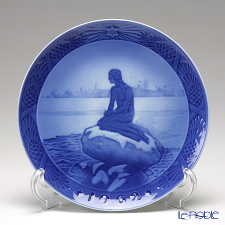 Royal Copenhagen Christmas Plate 1962 - 'The Little Mermaid'