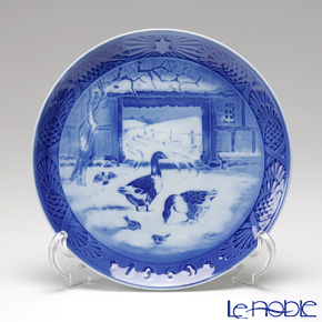 Royal Copenhagen Christmas Plate 1969 - 'Old Farmyard'
