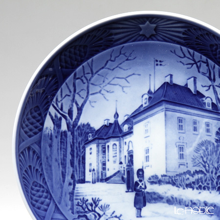 Royal Copenhagen Collectibles 'Marselisborg Palace' [1975] Christmas Plate 18cm