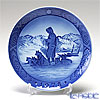 Royal Copenhagen Christmas Plate 1978 - 'Greenland Scene'