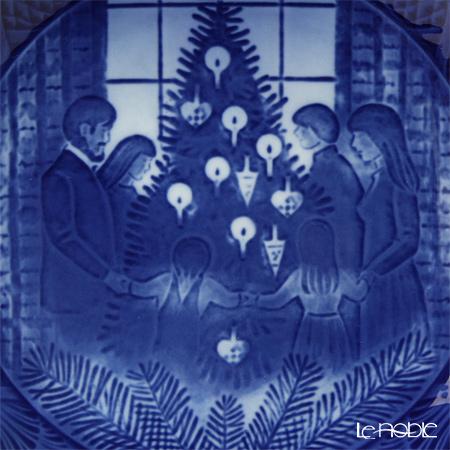 ロイヤルコペンハーゲン(Royal Copenhagen) イヤープレート1983年/昭和58年 「メリークリスマス」