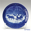 Royal Copenhagen Christmas Plate 1984 - 'Jingle Bells'