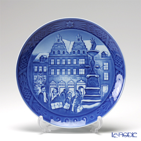 Royal Copenhagen Collectibles 'Christmas at Amagertorv' 2009 Christmas Plate 18cm
