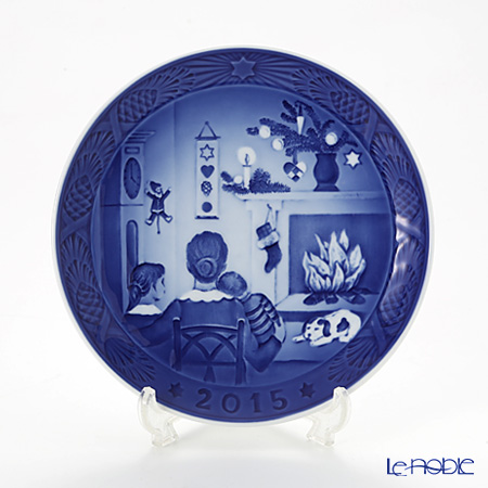 Royal Copenhagen Christmas Plate 2015 - 'Christmas Days'