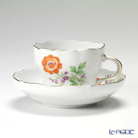 マイセン(Meissen) ビンテージフラワー2 04c001/00582 コーヒーカップ&ソーサー 200cc キンポウゲ