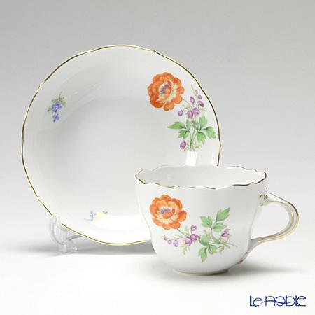 マイセン(Meissen) ビンテージフラワー2 04c001/00582コーヒーカップ&ソーサー 200cc キンポウゲ
