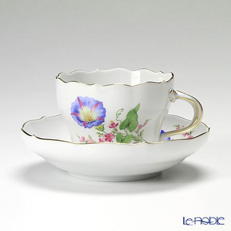 マイセン(Meissen) ビンテージフラワー2 04c002/00582 コーヒーカップ&ソーサー 200cc ヒルガオ