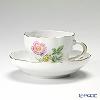 マイセン(Meissen) ビンテージフラワー2 04c003/00582コーヒーカップ&ソーサー 200cc 野バラ