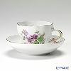 マイセン(Meissen) ビンテージフラワー2 04c004/00582コーヒーカップ&ソーサー 200cc スミレ
