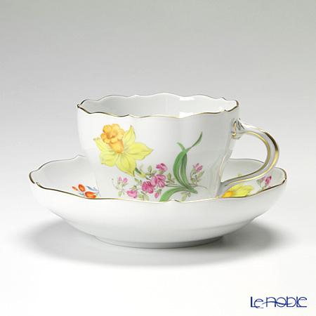 マイセン(Meissen) ビンテージフラワー2 04c005/00582 コーヒーカップ&ソーサー 200cc スイセン