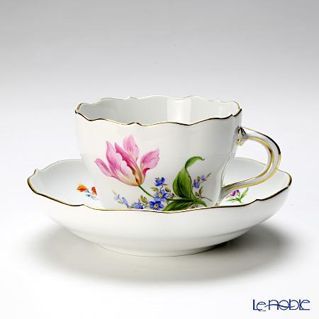 マイセン(Meissen) ビンテージフラワー2 04c006/00582 コーヒーカップ&ソーサー 200cc チューリップ
