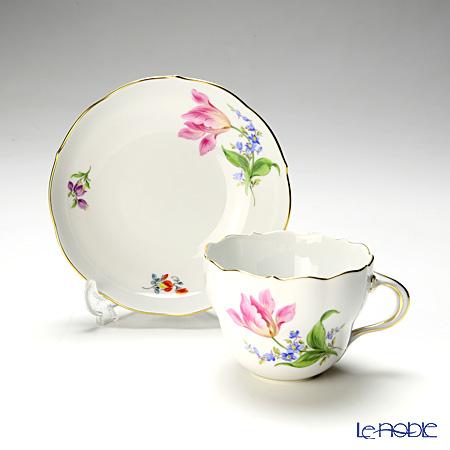 マイセン(Meissen) ビンテージフラワー2 04c006/00582コーヒーカップ&ソーサー 200cc チューリップ