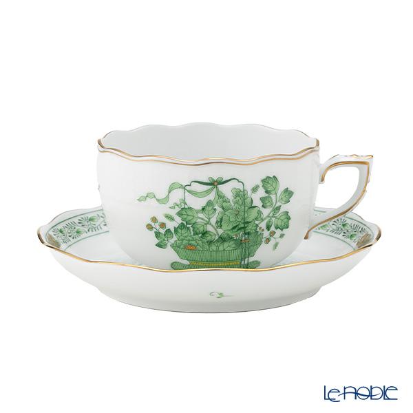 ヘレンド 清の花籠 CN 00724-0-00/724 ティーカップ&ソーサー 200cc