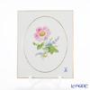 マイセン(Meissen) ベーシックフラワー(二つ花) 040110/53n32/13陶板 18×15cm Motiv No.13 野バラ