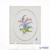 マイセン(Meissen) ベーシックフラワー(二つ花) 040110/53n32/35陶板 18×15cm Motiv No.35 忘れな草
