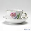マイセン(Meissen) ベーシックフラワー(二つ花) 040110/00582/13コーヒーカップ&ソーサー 200cc Motiv No.13 野バラ