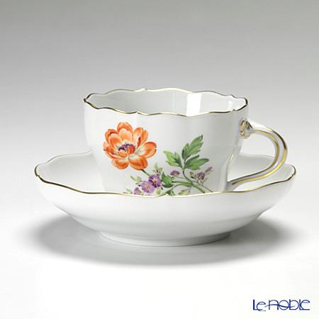 マイセン(Meissen) ベーシックフラワー(二つ花) 040110/00582/20 コーヒーカップ&ソーサー 200cc Motiv No.20 ラナンキュラス