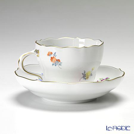 マイセン(Meissen) ベーシックフラワー(二つ花) 040110/00582/33コーヒーカップ&ソーサー 200cc Motiv No.33 チューリップ