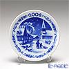 Royal Copenhagen Collectibles 'Reersoe' 1408702 [2008] Christmas Mini Plate / Plaquette 8.5cm