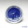 Royal Copenhagen Collectibles 'The Royal Exchange' [2009] 1409702 Christmas Mini Plate / Plaquette 8cm