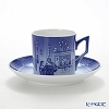 Royal Copenhagen Collectibles Cup and saucer 2015 - Christmas Days, 15 cl
