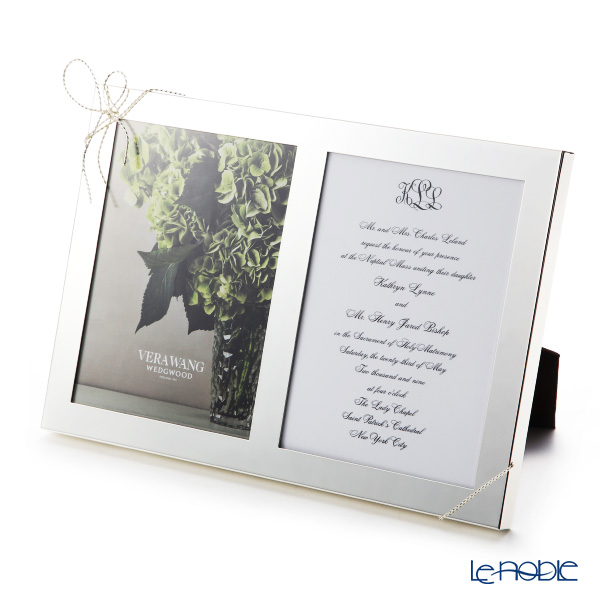 Wedgwood 'Vera Wong - Love Knots' Double Picture Frame 30x21cm