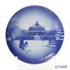ビングオーグレンダール(Bing&Grondahl) イヤープレート/クリスマスプレート植物園 2021年/令和3年