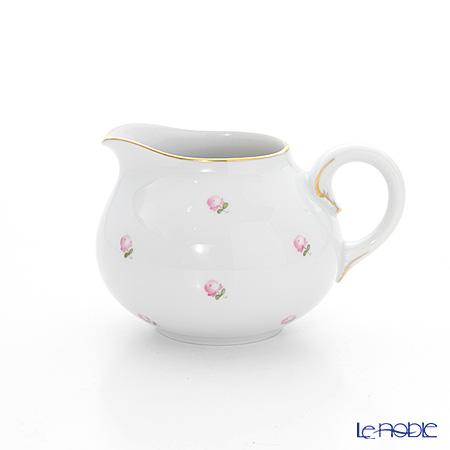 アウガルテン(AUGARTEN) スキャタードローズ(5009) クリーマー(紅茶用) 0.25L(001シューベルトシェイプ)