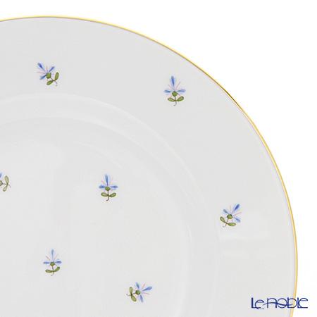 Augarten 'Old Viennese Scattered Cornflowers' [Schubert shape] Plate 19cm