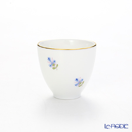 Augarten 'Old Viennese Scattered Cornflowers' Liqueur Cup 30ml (S)