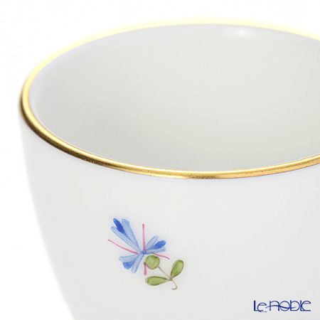 Augarten Old Viennese Scattered Cornflowers Liquor Cup 0.03 l, 5010 / 694