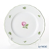 Augarten 'Wiener (Viennese) Rose' [Mozart shape] Plate 20cm