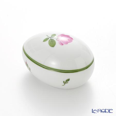Augarten 'Wiener (Viennese) Rose' Lying Egg Box H5cm