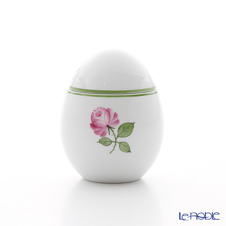 Augarten 'Wiener (Viennese) Rose' Standing Egg Box H8cm