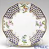 Herend 'Mosaic and Flowers / Mosaïques Triangulaires et Fleurs des Champs' MTFC 20517-0-00 Dessert Plate 19cm