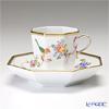 ヘレンド 地中海の庭 JM 04304-0-00オクタゴナルカップ&ソーサー