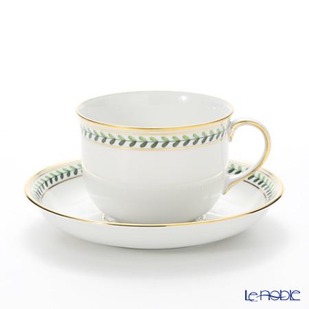 アウガルテン(AUGARTEN) ウィンナーリーフエッジ(5343) コーヒーカップ&ソーサー 0.2L(001)