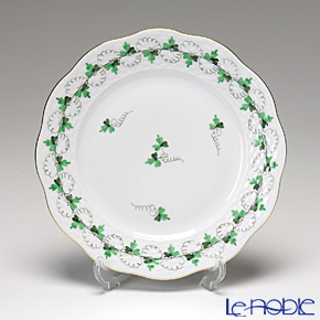 ヘレンド パセリグリーン PE 00517-0-00/517 プレート 19cm
