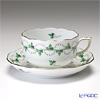 Herend 'Parsley Green' PE 20724-0-00 Tea Cup & Saucer 200ml