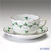 ヘレンド パセリグリーン PE 00724-0-00/724ティーカップ&ソーサー 200cc
