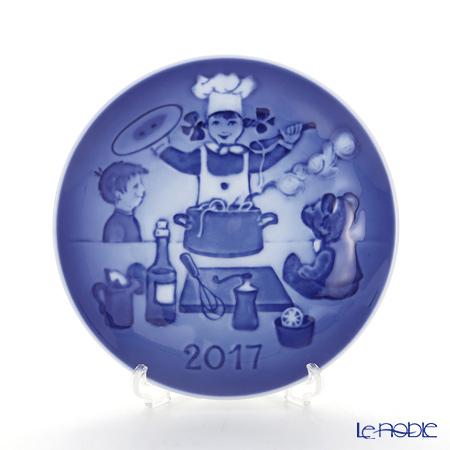 ビングオーグレンダール(Bing&Grondahl) チルドレンズデイプレート2017年 「The Little Chef」