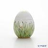 Augarten Spring Green Meadow & Flower Egg Box, Stand H8 cm, 5504/606