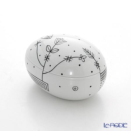 Augarten 'Mythos' Lying Egg Box H5.5cm