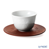 Meissen 'Successive Relief - Rococo' [1987] 55957/85668 Japanese Tea Cup & Stoneware Saucer 75ml