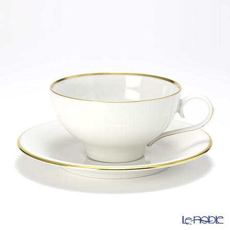 アウガルテン(AUGARTEN) エナゴールドリム(5625)コーヒーカップ&ソーサー 0.2L(021)