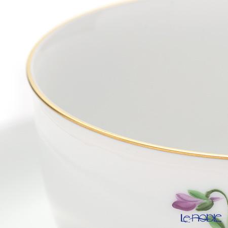 アウガルテン(AUGARTEN) バイオレットブーケ(5600)ティーカップ&ソーサー(S) 0.2L(001シューベルトシェイプ)